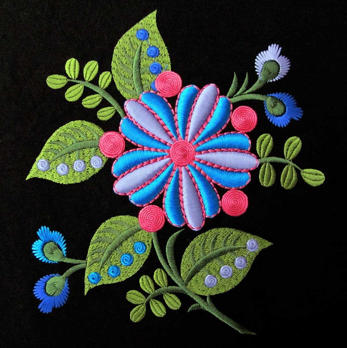 Вышивки на одежде примеры